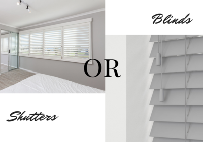 Wooden Shutters Or Blinds